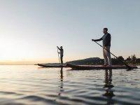 Alquiler de paddle surf por el Embalse de Las Vencías