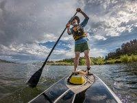 Paddle surf por el embalse de Las Vencías
