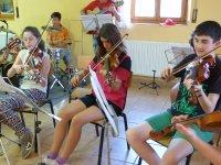 Alumnos de violin