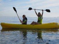 Kayak campamento ingles Roquetas