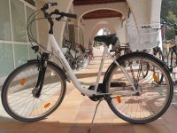Bicicleta urbana en alquiler en Palma