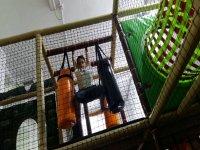 Laberinto de juegos parque Navalcarnero