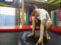 Peque in the Navalcarnero trampoline