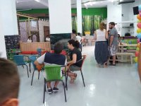 Navalcarnero park cafeteria