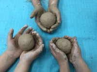 Clay balls Navalcarnero camp
