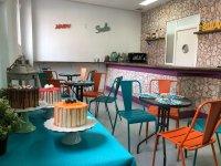 Cafeteria y pasteles parque de Navalcarnero