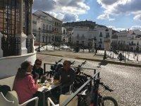 Cicloturismo en Aracena