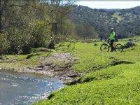 En bici por los alrededores de Aracena