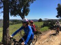 Pedaleando por los campos de Aracena