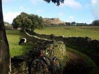 Sendero ciclista en Aracena