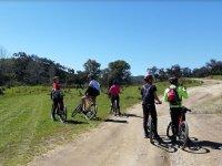 Turismo en bici por el campo desde Aracena