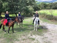 A caballo en el Valle del Tietar