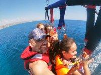 Parasailing sulla Costa Blanca
