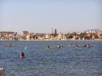 Sailing in the Mar Menor