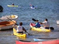 Kayak in Los Alcazares