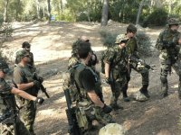 Airsoft players in Mallorca