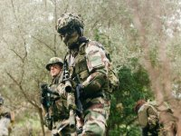 Airsoft soldier Balearic Islands