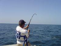 Media jornada de pesca en Santander. 4 h