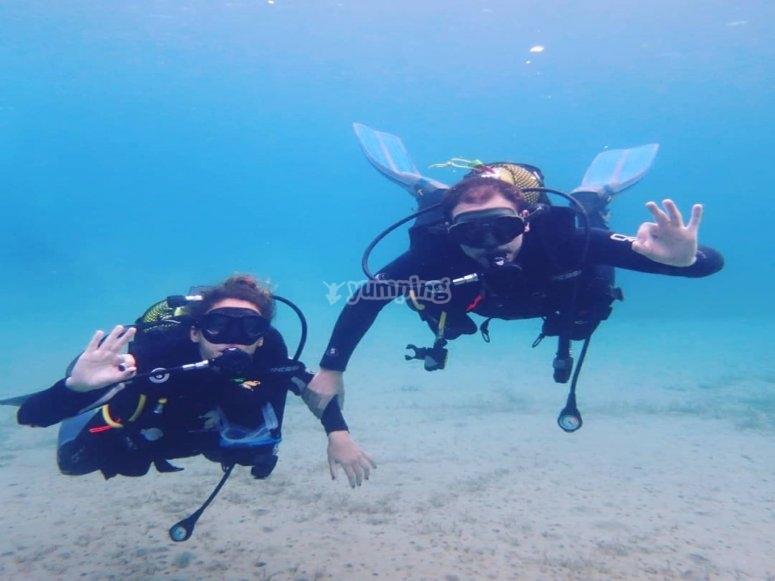 Buceo de Bahía de Mazarrón