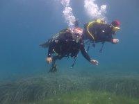 LaAzohía的潜水洗礼