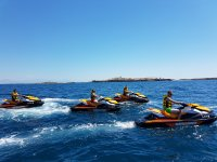 Excursion to the island of Tabarca by jet ski