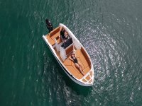 Sunbathing aboard the Nireus
