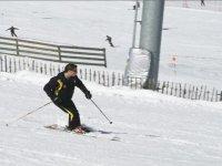 最好的监视器的滑雪课程