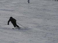 最佳条件的滑雪
