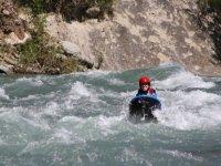 Navegando en un hidrospeed