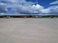 Aviones en espera