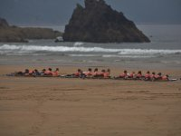 Classi sulla spiaggia