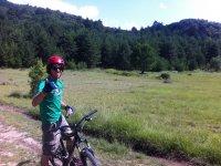 Ciclista de btt