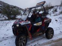 Por la nieve en Ronda
