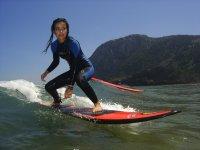 Surfing in Vizcaya