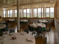 Restaurant of the winery in Rioja