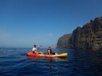 Pareja en el kayak