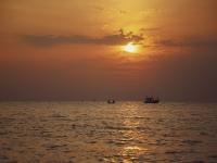 日落时分乘船游览瓦伦西亚