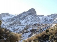 La sierra desde Abrucena