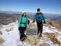 Climb to the Torrecilla s peak