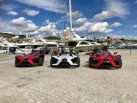 Porto Portals formula cars