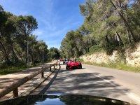 Tour Costa of the Calma formula cars