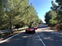 Tour Cala Fornells Formula Cars