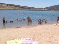 Playa en el embalse de Ciudad Real