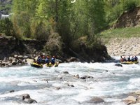 Rafting rafts on the Ara