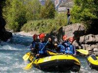 Rafting on the Ara