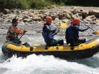Whitewater rafting in Huesca