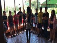Coro en el campamento de Gredos