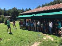 Coreografia en el campamento de Gredos
