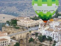 Balloon flight over Ronda