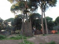 Torre de escalada en la Juliana